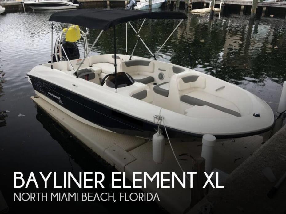 2015 Bayliner Element XL