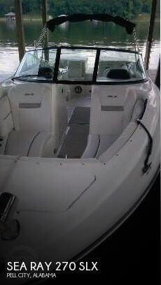 2006 Sea Ray 270 SLX