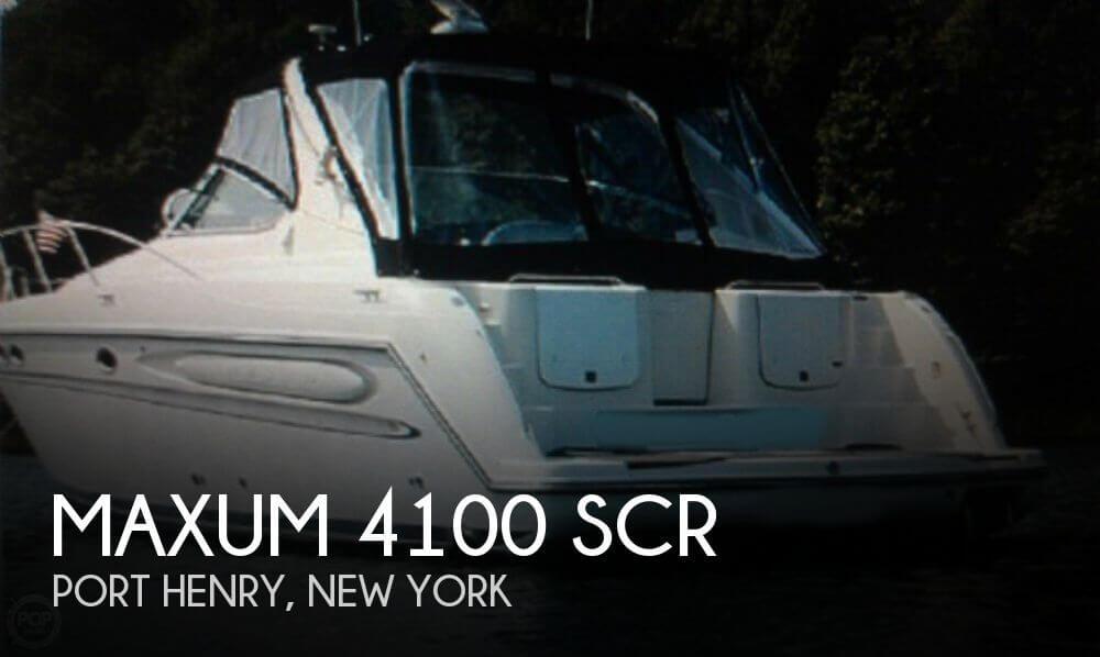 1997 Maxum 4100 SCR