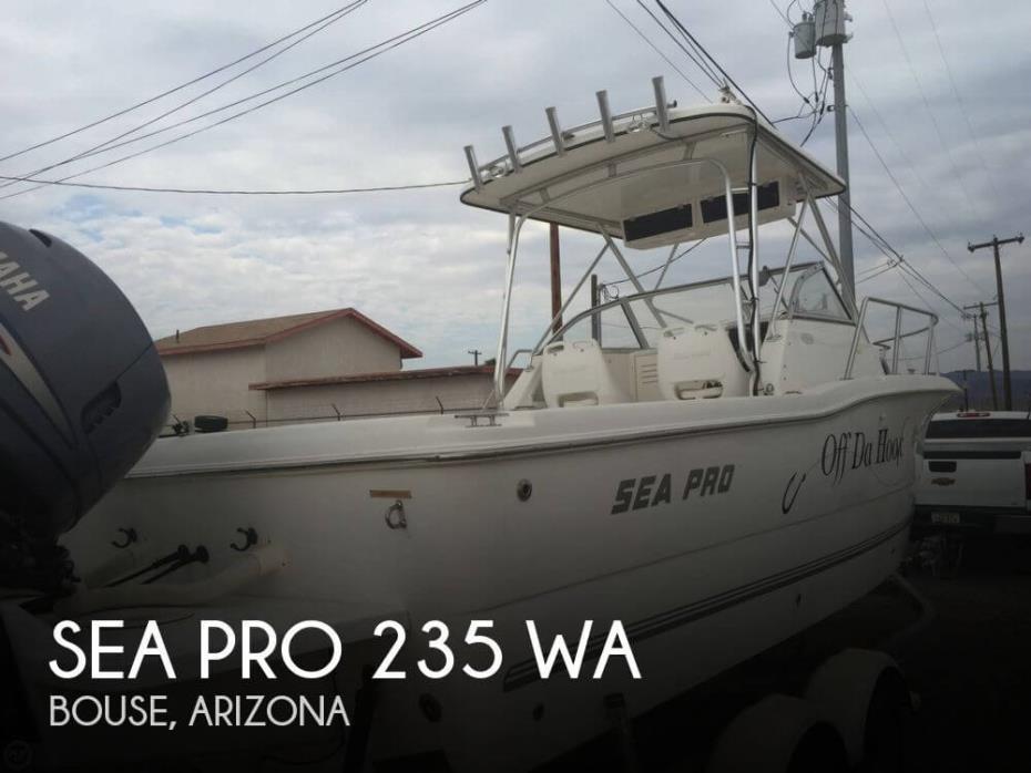 2003 Sea Pro 235 WA