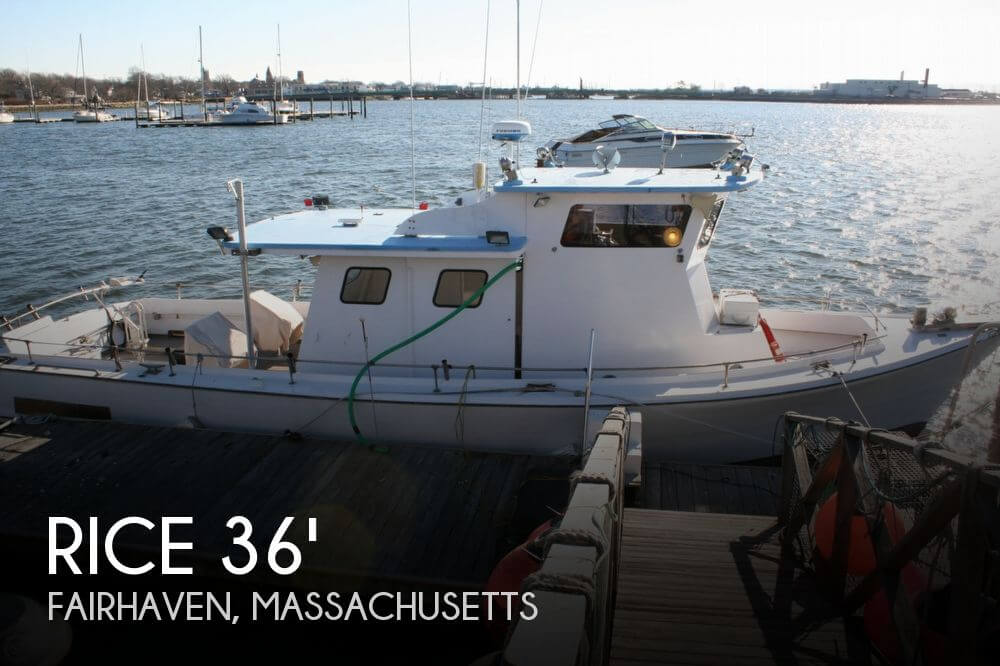 1961 Rice Marine Custom 36 Charter/Tuna