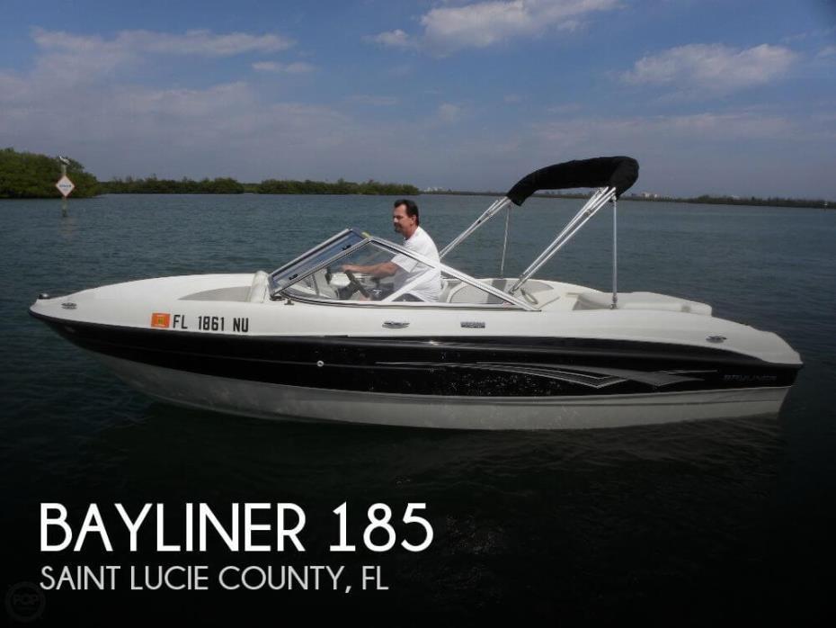2009 Bayliner 185