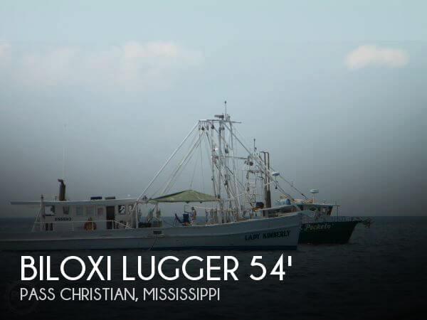 1948 Biloxi Lugger Shrimp boat