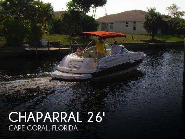 2004 Chaparral Sunesta 254