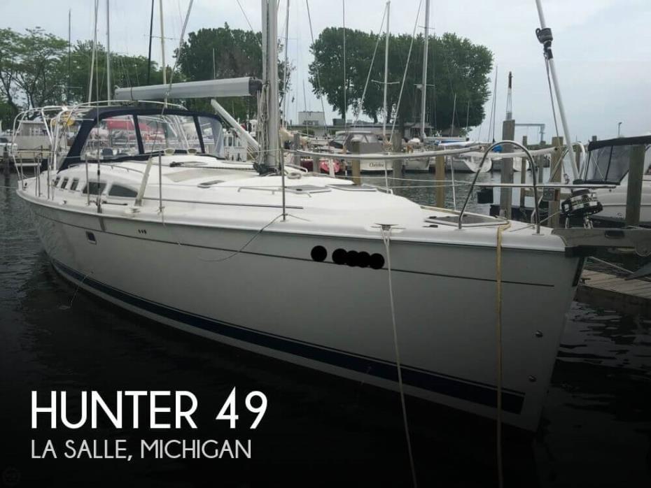 2008 Hunter 49