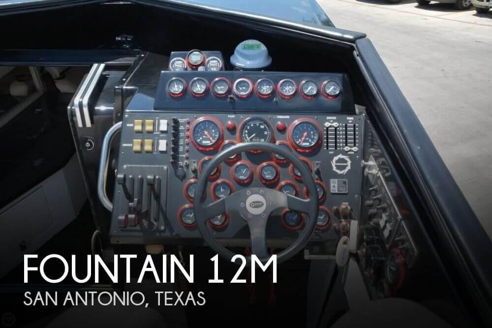 1988 Fountain 12M