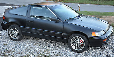 Honda : CRX DX 1990 honda crx base coupe 2 door b 18 b 1 swap 1.8 dohc 5 speed