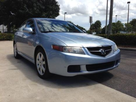 Acura : TSX 4dr Sport Sd SUPER CLEAN TSX FLORIDA CAR NO RESERVE LIKE TL HONDA ACCORD CIVIC