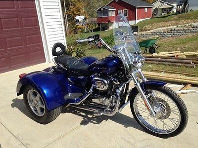 Harley-Davidson : Other 2006 cobalt blue harley davidson 1200 trike