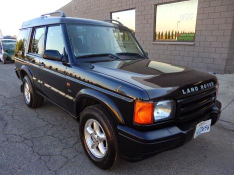 Land Rover : Discovery 4dr Wgn SD 2002 landrover discovery sparkling black tan int runs drives great 2999 best