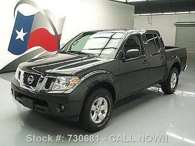 Nissan : Frontier WE FINANCE!! 2013 nissan frontier sv v 6 crew auto rear cam tow 27 k texas direct auto