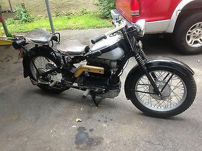 Other Makes : Nimbus 1952 nimbus civilian motorcycle collectors bike runs and drives