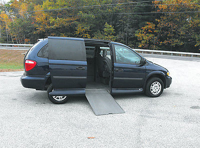 Dodge : Grand Caravan Power Door and Ramp 2005 dodge grand caravan handicap wheelchair van 62 901 mi