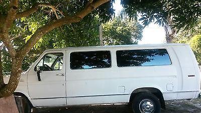 Ford : E-Series Van XL Cargo Van 2-Door 1990 ford e 350 econoline club wagon cargo van 2 door 5.8 l