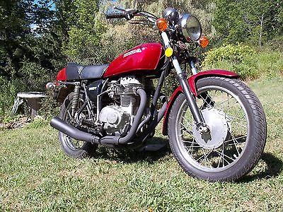 Honda : CB 1976 honda cj 360 factory cafe