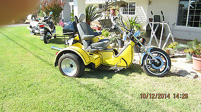 Custom Built Motorcycles : Other Trike VW Four Speed Trans.