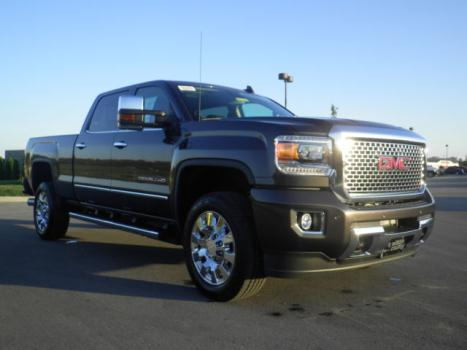 GMC : Sierra 2500 DENALI 2500 2015.5 new build iridium 6.6 l duramax plus spray in liner 4 x 4 moonroof 20 s new