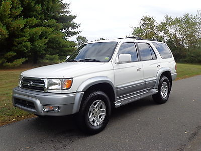 Toyota : 4Runner Limited 1999 Toyota 4 Runner Limited White Over Tan Nice  Truck