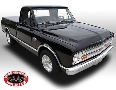 Chevrolet : C-10 Pickup 1967 chevrolet c 10 pickup 402 500 hp custom restored automatic gorgeous