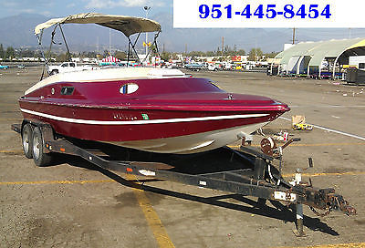 1997 CORDOVA DAY CRUISER SPEED BOAT WITH A BERKLEY JET. INCLUDES TRAILER