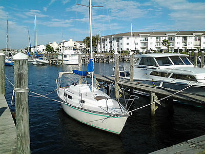 24 ft NEPTUNE SAILBOAT POP TOP WITH YAMAHA MOTOR