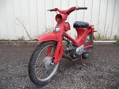 Honda : Other Barn Find 1963-65 Honda C105B Trail Bike