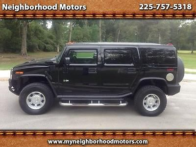 Hummer : H2 SUV 2005 hummer h 2 aftermarket nav and dvd very clean truck trade in