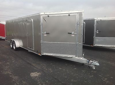 New 2015 All Aluminum Enclosed 4-Place Snowmobile/ ATV Trailer PRE-SEASON SALE