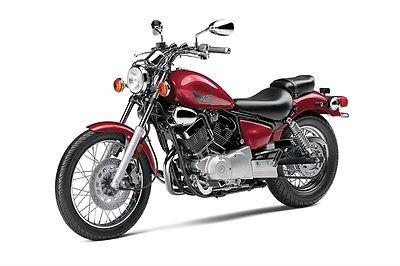 Yamaha : V Star New 2014 Yamaha V-Star 250 Red V-twin 250cc Star  XV250ER Buy It Now $2999