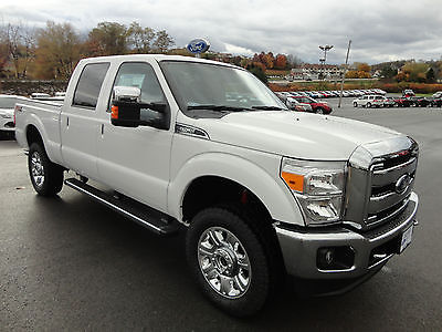 Ford : F-250 Crew Cab Lariat 4x4 6.2L V8 Heated Cooled Leather  New 2015 F250 Super Duty 4x4 Crew Cab Lariat 6.2L V8 Chrome Package Leather 4wd