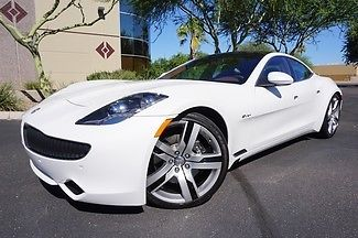 Fisker : Karma EcoSport Karma 12 sport white navigation backup camera heated seats 22 wheels white sand wow