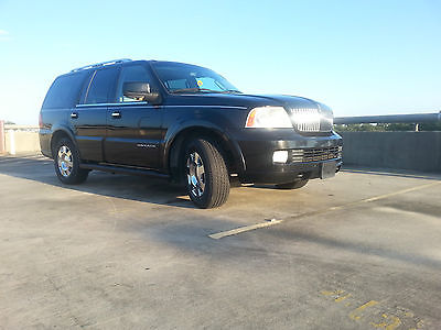 Lincoln : Navigator Limited 2005 lincoln navigator base sport utility 4 door 5.4 l