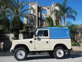 Land Rover : Other SERIES III,DIESEL,4x4,RIGHT HAND DRIVE,RARE FIND VERY RARE,EXTREMELY UNIQUE,OWN A PIECE OF HISTORY,WE FINANCE,CALL 713-789-0000