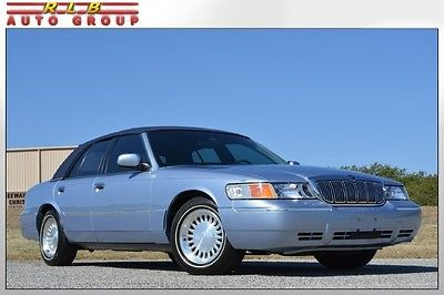 Mercury : Grand Marquis LS Sedan 1998 grand marquis ls immaculate one owner 28 000 original miles simply like new