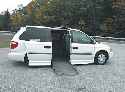 Dodge : Grand Caravan Reduced Effort Steering 2003 dodge grand caravan handicap wheelchair van 80 000 mi