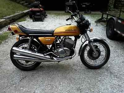 Kawasaki H2 750 : Other 1973 kawasaki h 2 750 stock unrestored survivor