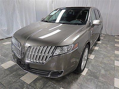 Lincoln : Other 4dr Wagon 3.5L AWD w/EcoBoost 2012 lincoln mkt awd ecoboost 18 k navigation panorama loaded