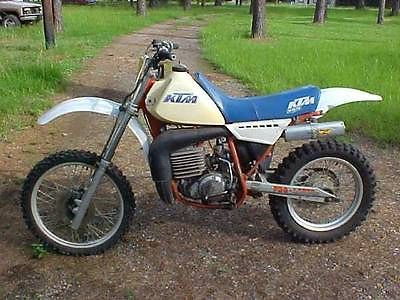 KTM : Other 1983 ktm 495 motocross enduro vintage ahrma tvrc ktm 495 cross country mx