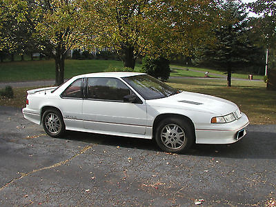 Chevrolet : Lumina Z34 1994 chevy lumina z 34 v 6 automatic 2 door white maroon burgundy interior