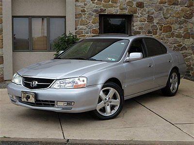 Acura : TL 2003 acura tl 3.2 sedan automatic leather sunroof