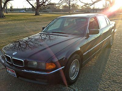 BMW : 7-Series Luxury Sedan 1998 bmw 750 il base sedan 4 door 5.4 l