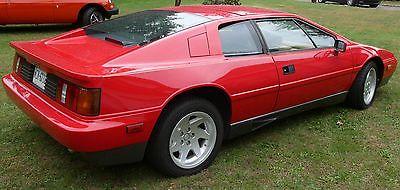 Lotus : Esprit Tan 1988 lotus esprit turbo low miles great condition