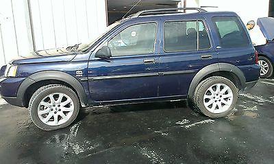 Land Rover : Freelander HSE Sport Utility 4-Door 2004 land rover freelander good mileage needs mechanical work low price