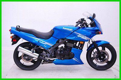 Kawasaki : Ninja 2009 kawasaki ninja 500 r used p 12815 blue