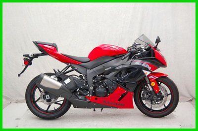 Kawasaki : Ninja 2012 kawasaki zx 6 r used p 12502 a ninja red and black