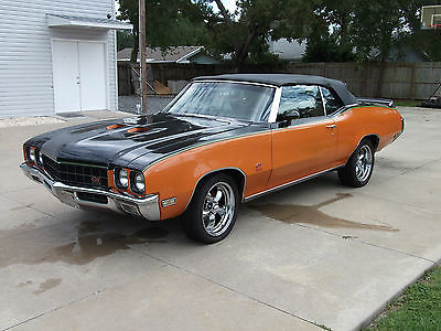 Buick : Skylark GS Buick Skylark GS Tribute Convertible GS-350 100% Restoration BEAUTIFUL