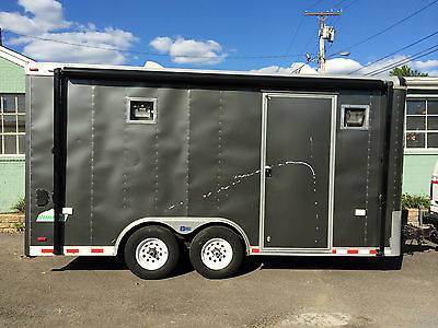 2007 Pace American 16 foot 10,000 GVW dual axle trailer