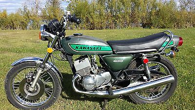 Kawasaki : Other 75 kawasaki s 3 400 nice original survivor triple 2 stroke street bike project