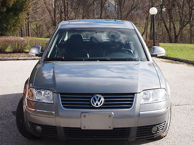 Volkswagen : Passat GLS TDI 2004 vw passat tdi auto leather moonroof and many bonus items must see