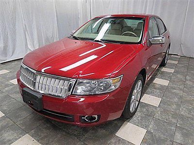 Lincoln : MKZ/Zephyr 4dr Sedan AWD 2007 lincoln mkz awd navigation thx heated cooled seats